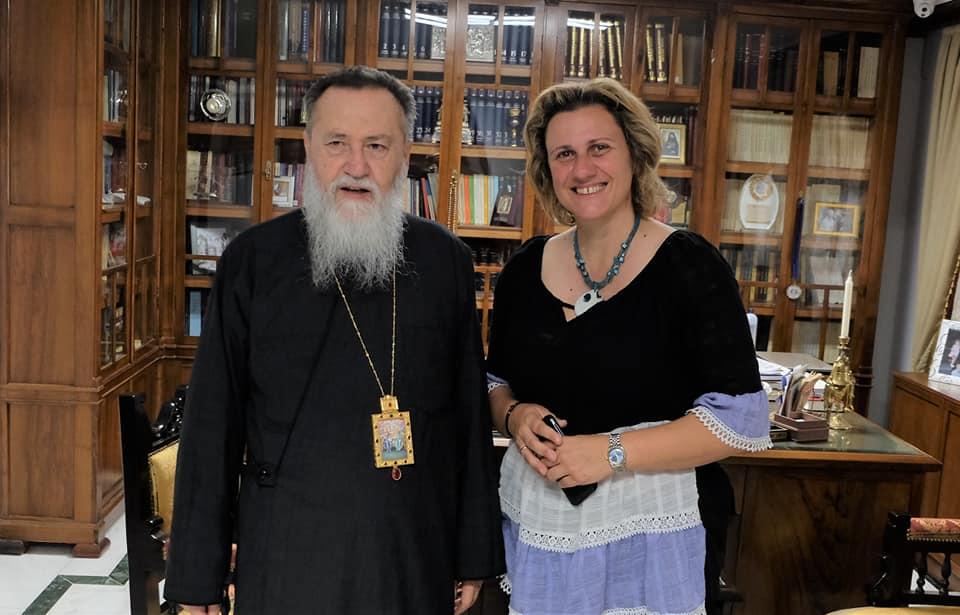 Επίσκεψη στον Σεβασμιότατο Μητροπολίτη Κορίνθου, Σικυώνος, Ζεμενού, Ταρσού και Πολυφέγγους κ.κ. Διονύσιο